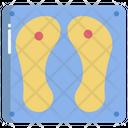 Buddhas Footprint Icon