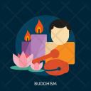 Buddhism Day Celebrations Icon