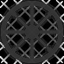 Buddhism Wheel Wheel Dharma Wheel Icon
