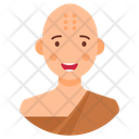 Buddhist Asian Monk Icon