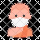Buddhist Avatar Man Icon