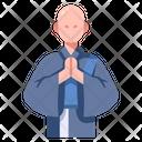 Asia Buddhist Japan Icon