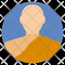 Monk Religious Medieval Icon