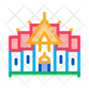 Buddhist Temple Icon