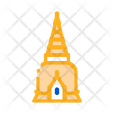 Thailand Religion Tower Icon