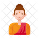 Buddhist Woman Icon