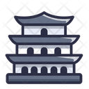 Buddist Temple Icon