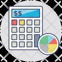 Budget Estimating Financial Icon