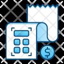 Budget Calculation Bill Icon