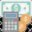 Budget Budget Plan Calculator Coins Icon