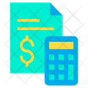 Financial Planning Calculator Finance Icon