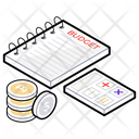Budget Accounting Calculation Financial Calculation Icon