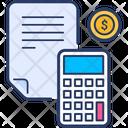Budget Home Finances Financial Bill Icon
