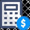 Budget Calculator Calculation Icon