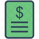 Seo Budget Invoice Icon