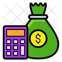Budget Calculation Accounting Icon