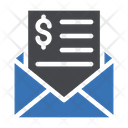 Budget Email Tax Icon