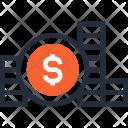 Budget Cash Coin Icon