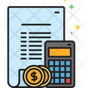 Budget Accounting Budget Calculating Icon