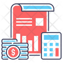 Budget Accounting Icon