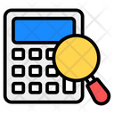 Budget Accounting Financial Calc Accounting Audit Icon