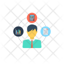 Budget Analysis Management Icon