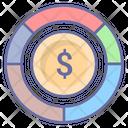 Budget Balance Money Diagram Icon