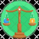 Financial Scale Budget Balance Financial Balance Icon