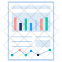 Budget Bar Plot Icon