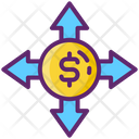 Budget Breakdown Budgeting Crowdfunding Icon