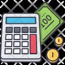 Budget calculation Icon