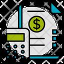 Budget Calculation Money Icon