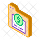 Electronic Financial Business Icon
