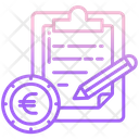 Budget Note Icon
