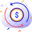 Budget Planning Currency Exchange Money Conversion Icon