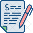 Budgeting Business Plan Business Strategy Icon