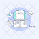 Budgeting Estimating Financial Icon