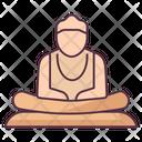 Buddha Sanskrit Character Deva Landmark Icon