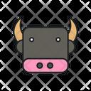 Buffalo Animal Livestock Icon