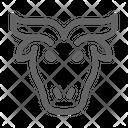 Buffalo Bull Bison Icon