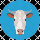 Buffalo Cow Face Icon