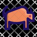 Buffalo Bison Wild Icon