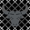 Buffalo Bison Face Icon