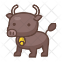 Buffalo Animal Wild Icon