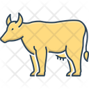 Buffalo Livestock Useful Icon