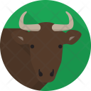 Buffalo Animals Herbivores Icon