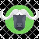 Buffalo Animal Mammal Icon