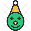 Buffoon Clown Jester Icon