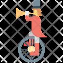 Buffoon Circus Clown Icon