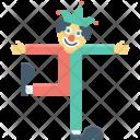 Buffoon Clown Jester Icon